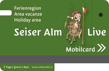 Seiser Alm Live Mobilcard